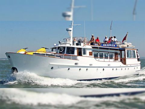 J Thornycroft Gentlemans Motor Yacht For Sale Daily Boats Buy Review Price Photos Details