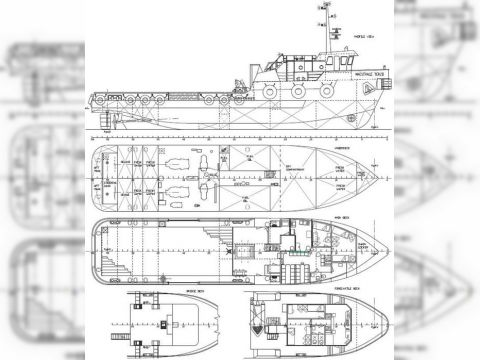 25924 Commercial Vessel Crew Boat N9 For Sale