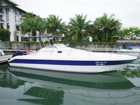 Gulf craft sea breeze 33 for sale daily boats buy for Gulf craft boats for sale