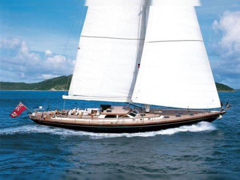 Alloy Yachts 30m Ted Hood design