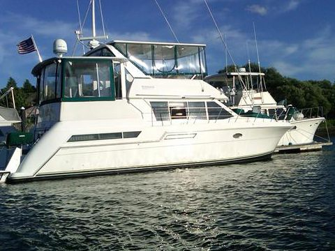 Carver 405 Motor Yacht For Sale Daily Boats Buy