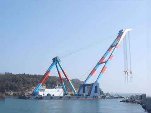 Floating Crane 100 tons
