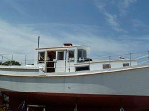 Diesel Duck 40 Trawler George Buehler Trawler Design
