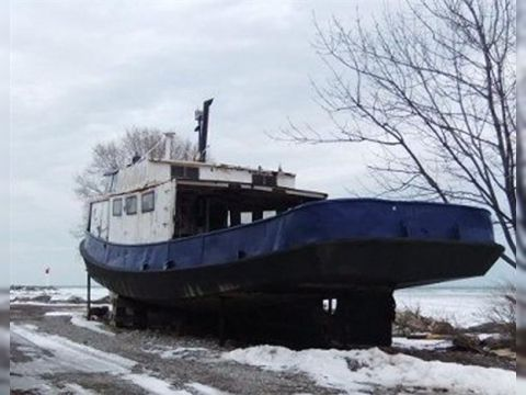 Great lakes commercial fishing vessel for sale daily for Fishing boat cost