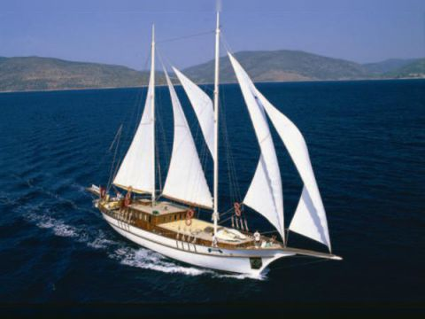 Aegean Yacht Services Classic Schooner