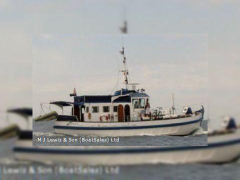 Pilot vessel - ex,17m wooden motor vessel