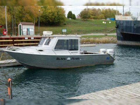 Henley 24 Aluminum Cabin Boat