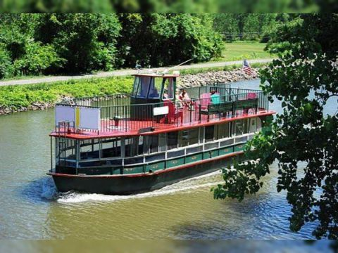1953/2002 50' Steel Erie Canal Dinner & Boat Boat