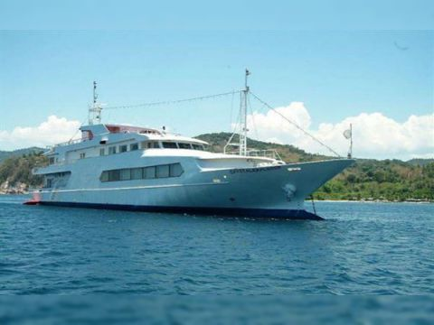 56.9m Steel 300 Passenger Cruise Vessel C/w In-Water Viewing Lounge