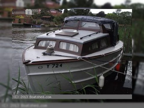 Wooden Broads Cruiser 30
