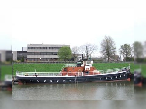 Spacious living ship,former ferry built as Steamer