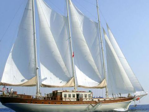 Aegean Yacht Services Triple Masted Schooner