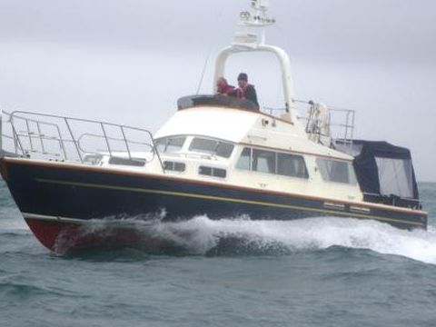 Hagg 36 Flybridge Motor Yacht