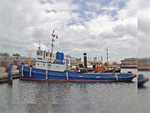 Former Royal Navy Tug Living ship,sea going