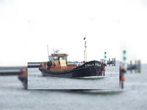 Passenger vessel 60 pax Dutch Barge,live a board