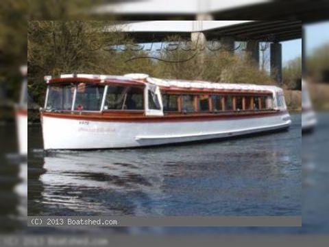 Passenger Vessel River Cruiser