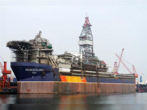 Jack up rig Drill Ship delivery June 2014