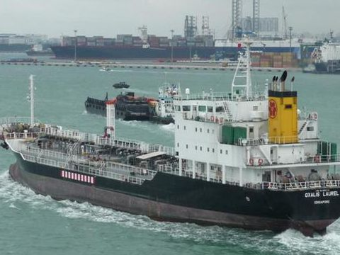 Tanker double bottom/single side