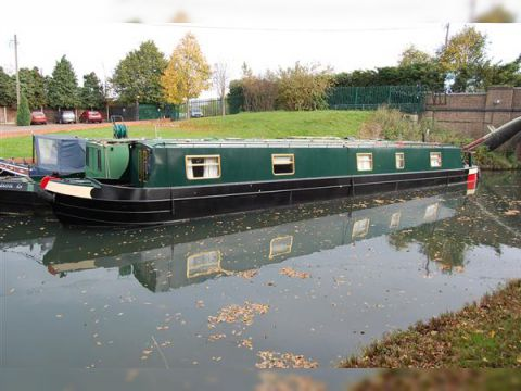 Dave Clarke Narrowboat