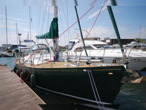 Bill Dixon Argosy 39 Cutter