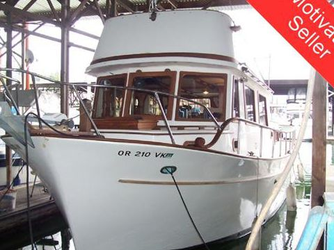 CHB 34 Trawler