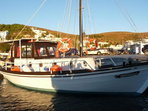 Trehanti Greek Traditional Motorsailer