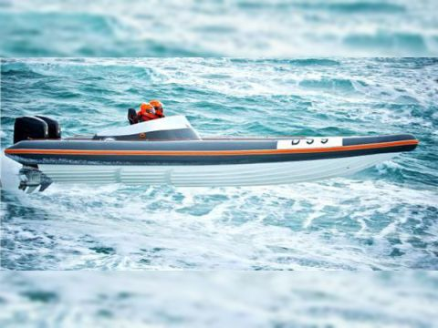 Pascoe SR9 Offshore Racing Rib
