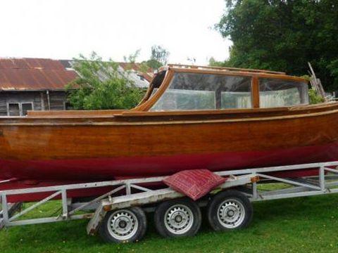 Wooden Wooden Motor Launch