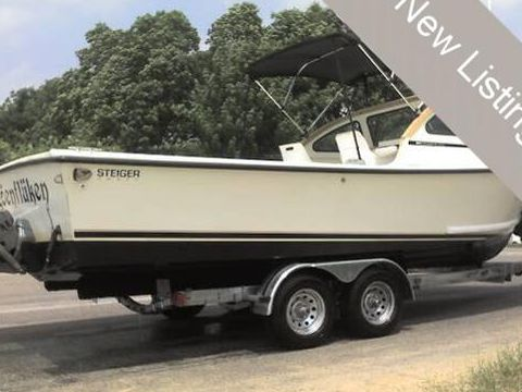 Steiger craft 25 for sale daily boats buy review for Used steiger craft for sale