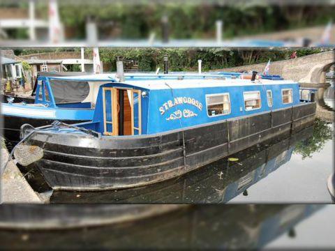 Springer Cruiser Stern Narrow Boat