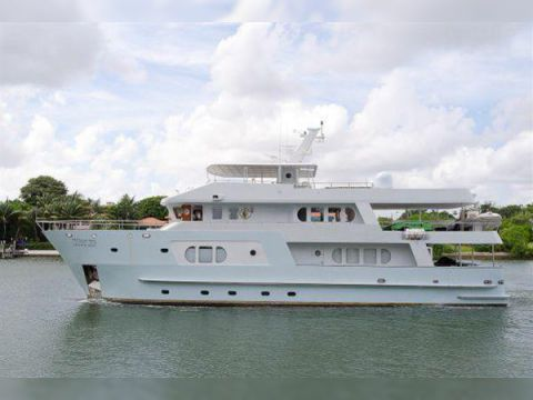 INACE Expedition Yacht with Helipad