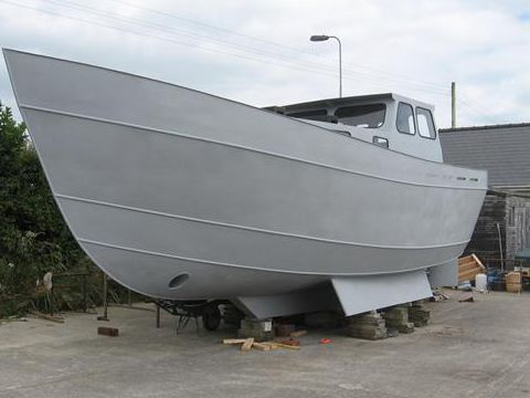 Wishbone Ketch Hull
