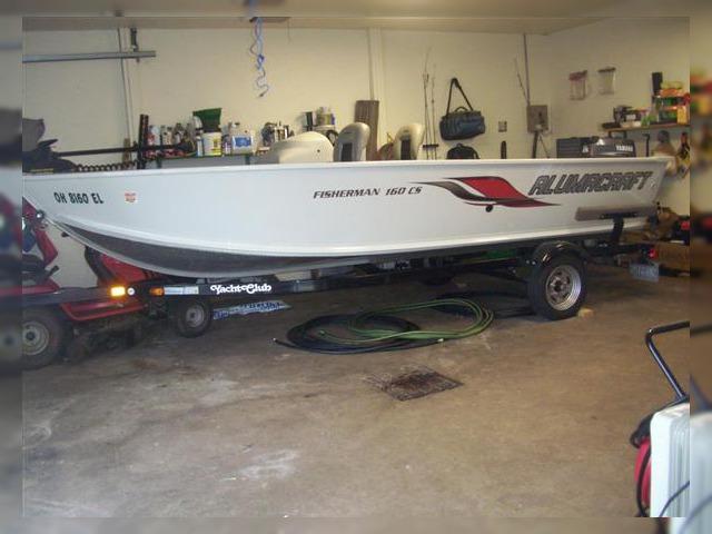 Alumacraft Fisherman 160 CS