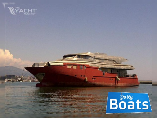 Costom made Steel / allumin Superyacht Hull unfinished ...