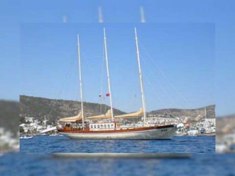 AEGEAN SHIPYARD THREE MASTED SCHOONER