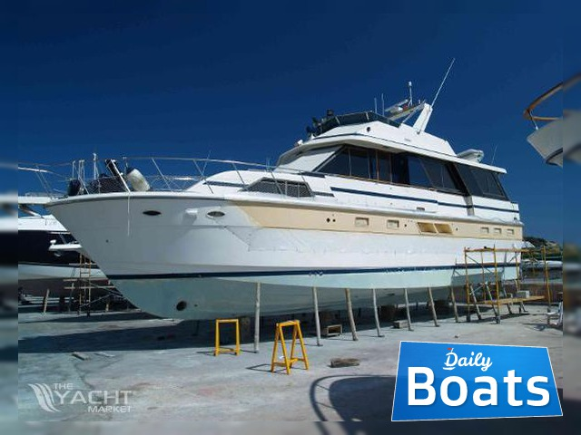 Hershine Hatteras 53 Motor Yacht For Sale Daily Boats Buy Review Price Photos Details