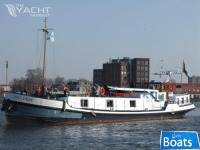 Dutch Barge,former frighter Luxury Living ship