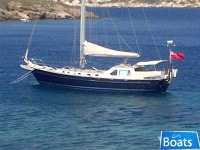 Adrian Stone 50 Steel Sailing Yacht