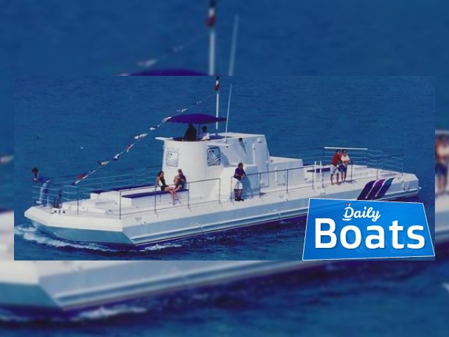semi-submersible day  passenger boat for sale