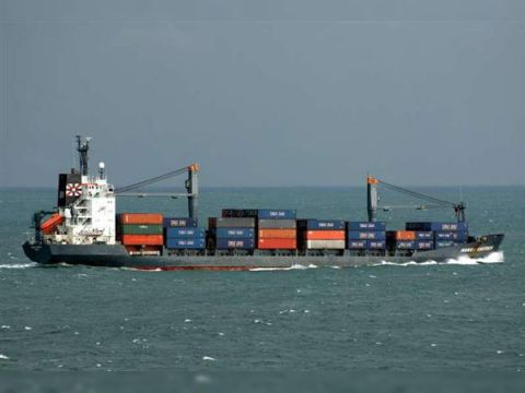 Container Class GL/2x 40t crane
