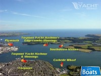 Swinging & trot moorings available nr Plymouth